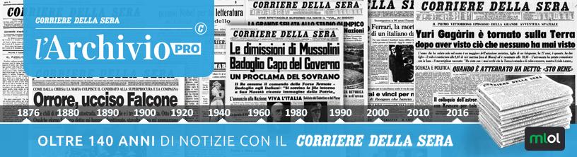 Archivio Corriere della sera