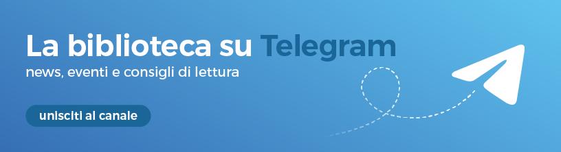 canale telegram delle biblioteche