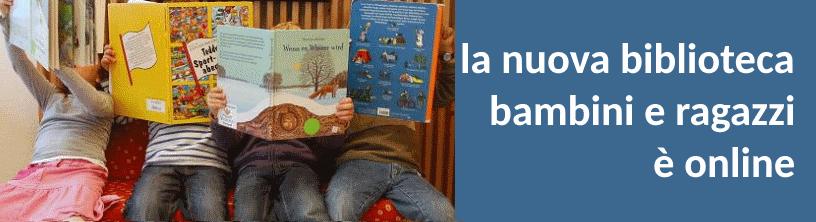 La biblioteca dei bambini e dei ragazzi